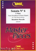 Ok�adka: Marcello Benedetto, Sonata N� 6 in G major - Saxophone