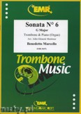Ok�adka: Marcello Benedetto, Sonata N� 6 in G major - Trombone