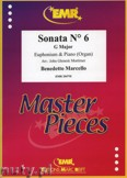 Ok�adka: Marcello Benedetto, Sonata N� 6 in G major - Euphonium