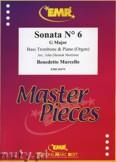 Ok�adka: Marcello Benedetto, Sonata N� 6 in G major - Trombone
