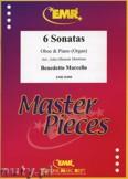 Ok�adka: Marcello Benedetto, 6 Sonatas - Oboe