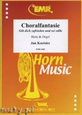 Okładka: Koetsier Jan, Choralfantasie for Horn and Orgel
