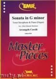 Ok�adka: Corelli Arcangelo, Sonata in g-minor - Saxophone