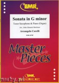 Okładka: Corelli Arcangelo, Sonata in g-minor - Saxophone