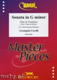 Ok�adka: Corelli Arcangelo, Sonata in G minor for Flute and Trombone