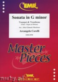 Ok�adka: Corelli Arcangelo, Sonata in g-minor - BRASS ENSAMBLE