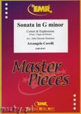 Ok�adka: Corelli Arcangelo, Sonata in G minor for Cornet and Euphonium