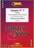 Ok�adka: Galliard Johann Ernst, Sonata N� 3 in F major - Saxophone
