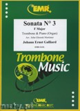 Ok�adka: Galliard Johann Ernst, Sonata N� 3 in F major - Trombone