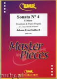 Ok�adka: Galliard Johann Ernst, Sonata N� 4 in E minor - Trombone
