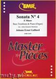 Ok�adka: Galliard Johann Ernst, Sonata N� 4 in E minor - Trombone