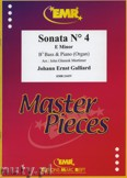 Ok�adka: Galliard Johann Ernst, Sonata N� 4 in E minor - Tuba
