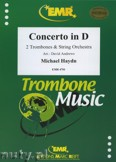 Okładka: Haydn Michael, Concerto in D (2 Trombones) - Orchestra & Strings