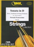 Ok�adka: Francheschini Petronio, Sonata in D for Horn, Trombone and String Orchestra