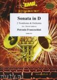 Okładka: Francheschini Petronio, Sonata in D (2 Trombones Solo) - Orchestra & Strings