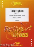 Ok�adka: Koetsier Jan, Triptychon Op. 132 for Trumpet, Trombone and Organ