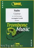 Okładka: Corelli Arcangelo, Suite - Trombone