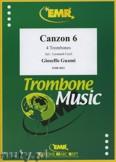 Okładka: Guami Gioseffo, Canzon 6 - Trombone