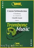 Okładka: Guami Gioseffo, Canzon Settimadecima  - Trombone