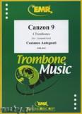 Okładka: Antegnati Costanzo, Canzon 9  - Trombone