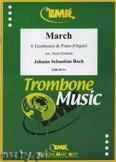 Ok�adka: Bach Johann Sebastian, March - Trombone