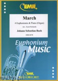 Okładka: Bach Johann Sebastian, March for 4 Euphoniums and Piano (Organ)