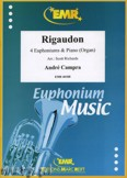 Okładka: Campra André, Rigaudon for 4 Euphoniums and Piano (Organ)