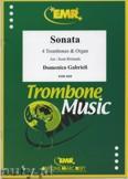 Ok�adka: Gabrieli Domenico, Sonata - Trombone