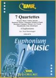 Okładka: Sturzenegger Kurt, 7 Quartette - Euphonium