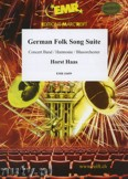 Ok�adka: Haas Horst, German Folk Song Suite - Wind Band