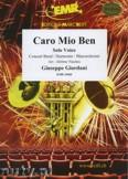 Okładka: Giordani Giuseppe, Caro mio ben (Solo Voice) - Wind Band