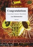 Ok�adka: Rodenmacher Luc, Congratulations - Wind Band