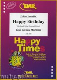 Okładka: Mortimer John Glenesk, Happy Birthday - BRASS ENSAMBLE