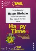 Okładka: Mortimer John Glenesk, Happy Birthday - BRASS ENSAMBLE