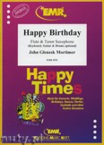 Ok�adka: Mortimer John Glenesk, Happy Birthday for Flute and Tenor Saxophone