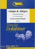 Ok�adka: H�ndel George Friedrich, Adagio & Allegro (Sonate Nr. 3) - Trumpet