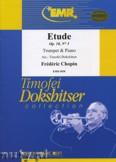 Okładka: Chopin Fryderyk, Etude Op. 10 N° 3 - Trumpet