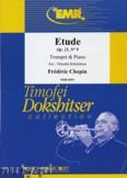 Okładka: Chopin Fryderyk, Etude Op. 25 N° 9 - Trumpet