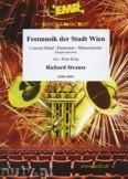 Okładka: Strauss Ryszard, Festmusik der Stadt Wien  - Wind Band