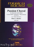 Okładka: Hassler Hans Leo, Passion Choral  - Wind Band