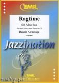 Okładka: Armitage Dennis, Ragtime for Alto Saxophone