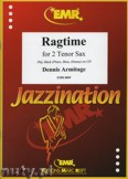 Okładka: Armitage Dennis, Ragtime for 2 Tenor Saxophones