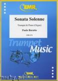 Ok�adka: Baratto Paolo, Sonata Solenne - Trumpet