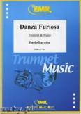 Okładka: Baratto Paolo, Danza Furiosa - Trumpet