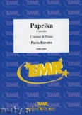 Okładka: Baratto Paolo, Paprika (Csardas) - CLARINET