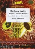 Okładka: Schneiders Hardy, Balkan Suite (Hungaria-Bulgaria-Romania) - Wind Band