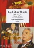 Okładka: Mendelssohn-Bartholdy Feliks, Drei Lieder ohne Worte  - Trumpet