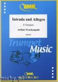 Okładka: Frackenpohl Arthur, Intrada & Allegro for 8 Trumpets