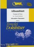 Okładka: Głazunow Aleksander, Albumblatt  - Trumpet