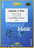 Okładka: Telemann Georg Philipp, Sonata A-Dur - Trumpet
